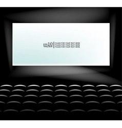 Blank screen vector image
