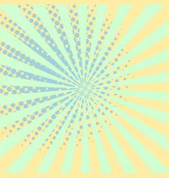 warm orange pop art retro comic halftone spotted vector image vector image