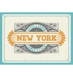 000 newyork design vector