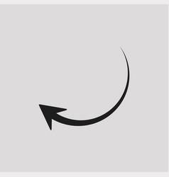 Arrow logo template element vector
