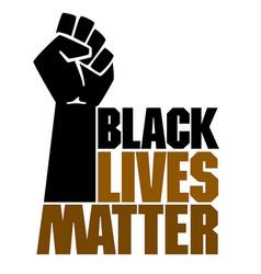 black lives matters social poster banner vector image