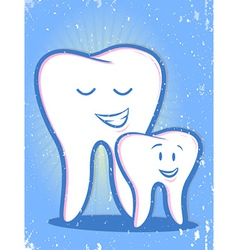 Family Dentist vector image vector image