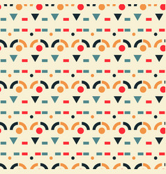 Fortress walls pattern seamless design vector