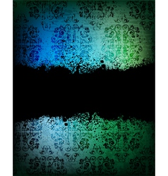 Ornamented background vector