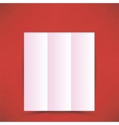 Pink Paper Brochure vector