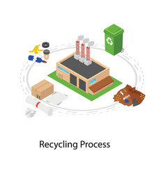 Recycling process vector