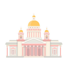 saint isaacs cathedral vector image