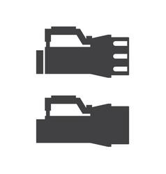 Scuba diving lamp icon vector