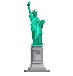 Statue of Liberty USA vector image