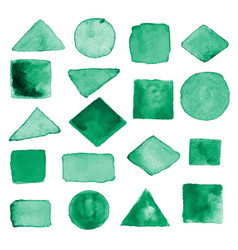 watercolor geometric design elements14 vector image