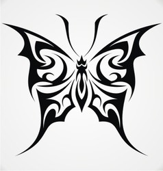 Butterfly Tattoo Design vector image vector image