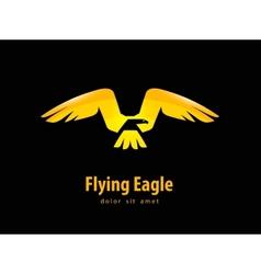 Eagle logo design template animal or bird icon vector