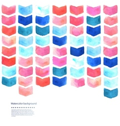 Watercolor geometric vector