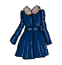 women coat vector image