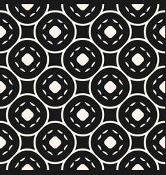 abstract geometric seamless pattern circular mesh vector image