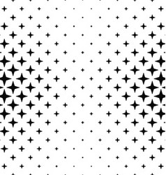 Black white polygon pattern design background vector image