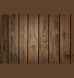 brown wooden panels vector image