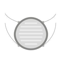 Mask mouth protection icon vector