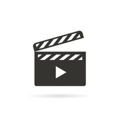 Movie logo or icon vector