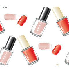 nail polish bottle vector image