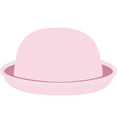 Pink hat vector image