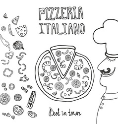 PizzaItaliana6 vector