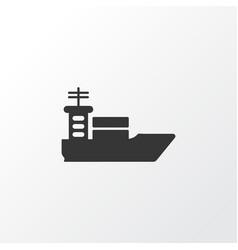 ship icon symbol premium quality isolated vessel vector image