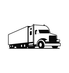 truck logo vector image