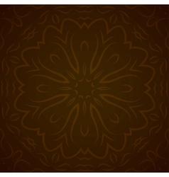 Abstract circle ornamental border vector image vector image