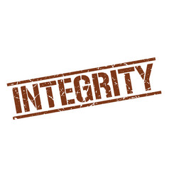 Integrity stamp vector