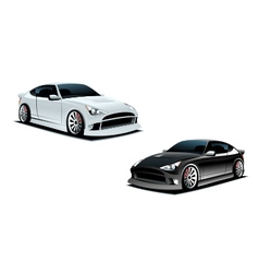 sport cars vector image