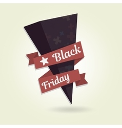 Black Friday object for website Template your vector image vector image
