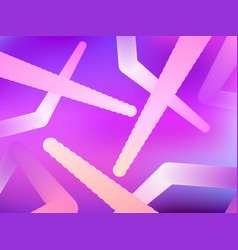 Abstract gradient shape modern colorful geometric vector
