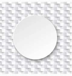 abstract white background white texture with ball vector image
