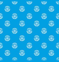 atom energy pattern seamless blue vector image