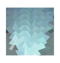 Cambridge Blue Abstract Low Polygon Background vector