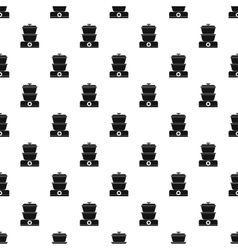 Double boiler pattern simple style vector