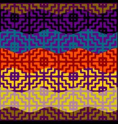 Ethnic tribal pattern seamless art image vector