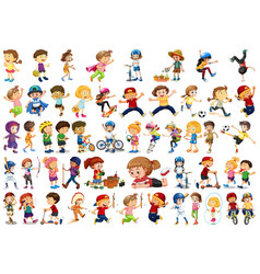 set children character vector image