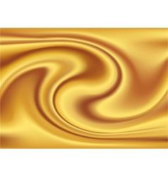 Abstract Texture Golden silk vector image