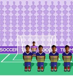 Ecuador Soccer Club Penalty on a Stadium vector image vector image
