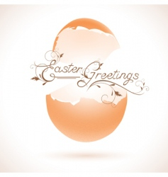 Easter vector image vector image