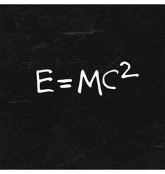 emc2 vector image vector image