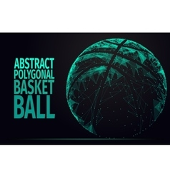 Abstract BASKET BALL vector image