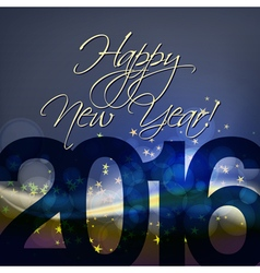 Abstract happy new year background vector