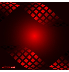 abstract square waves with black background vector image