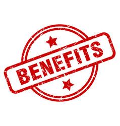 benefits vector image