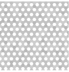 Hexagon pattern seamless background vector