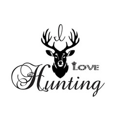 Hunting t-shirt design vector