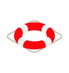 Lifebuoy icon isometric 3d style vector